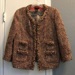 J. Crew knitted blazer